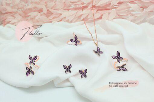 Pink Sapp Butterflies